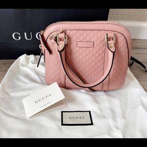 Gucci Bags - GUCCI GG Microguccissima Mini Dome Handbag pink
